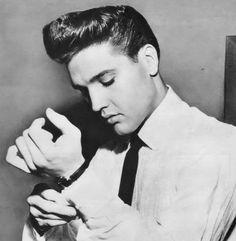 Elvis Presley (yes Elvis, always a favorite, whether it's his music, his look, whatever.)