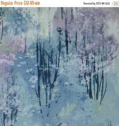 FLASH SALE - Enchanted Pines~Trees~Cotton Fabric, Quilt,~by McKenna Ryan for Robert Kaufman~15467-24~Fast Shipping SB257