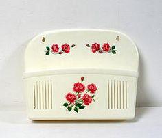 Porte-courrier vintage, glove box, letters or mail organizer