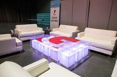 Check out the corporate branding at a recent leadership conference! www.afrevents.com