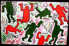 High School Color Theory Art Lessons | Keith Haring Painting Project | HaringKids Lesson Plans