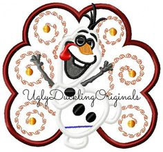 Hey, I found this really awesome Etsy listing at https://www.etsy.com/listing/201879060/frozen-olaf-snowman-turkey-gobble-til