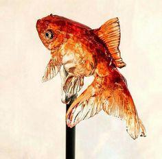 Japanese artist - Goldfish Lollipop