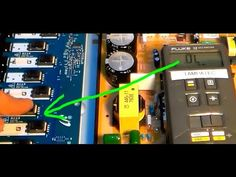 How to use Multimeter to read inverter board tv parts - YouTube