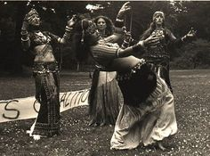 Masha Archer (on the left) and her SF Classic Dance Troupe, in a photo taken by Cedar Sposato.