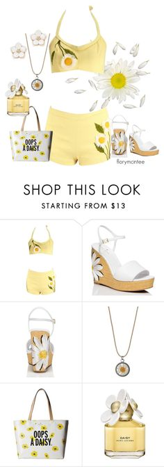 """""""OOPS A DAISY"""" by florymcintee ❤ liked on Polyvore featuring Kate Spade, Miss Selfridge, Marc Jacobs and Accessorize"""