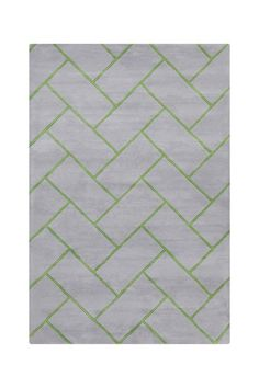 Allie Wool Rug - Green/Blue - 5ft. x 7ft. 6in. by Allie Rugs by Filament on @HauteLook