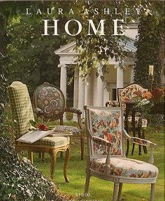 Laura ASHLEY Home Decor Cottage Romantic Decorating Catalog Photos 1993  Vintage