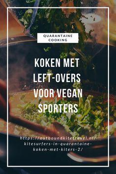 """Hartige wortel koekjes voor bij het avond eten met een eiwitrijke soep! Dit gerecht is grotendeels gemaakt van de left overs van het eerste """"koken met kiters"""" blog op de Outbound Kitetravel website.    #QuarantaineKoken #VeganKoken #VeganSporter #Vegan #kitesurfer Website, Blog, Kitesurfing"""
