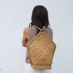 This just in: the Amihan Rattan Backpack 〰 abacastore.com #abacastore