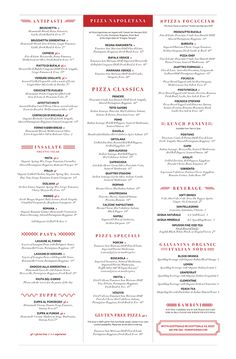 Art of the Menu: Pomo Pizzeria