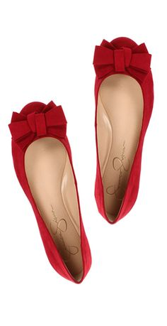 Jessica Simpson Mugara red bow flats on Zappos $24.99 Oakley sunglasses www.glasses-max.com