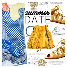 """""""Summer Date:The Beach"""" by totwoo ❤ liked on Polyvore featuring Dolce Vita, STELLA McCARTNEY and Sydney Evan"""