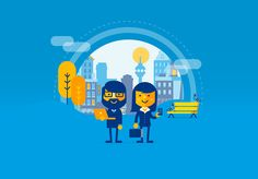 By Patswerk for BOOKING.COM Flat Design Illustration, Character Illustration, Graphic Illustration, Illustration Styles, Character Concept, Character Design, Iconic Characters, Material Design, Game Design