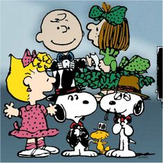 Snoopy is having an Oscars party!