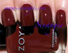 great fall color - Zoya Cola (Medium Reddish Brown)