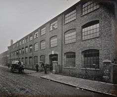 New Caslon Letter Foundry at Rothbury Rd, Hackney Wick, 1902.
