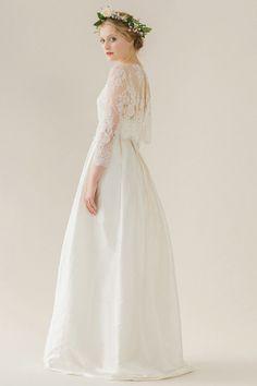 Rue De Siene   Sophia Dress & Grace Blouse    Bohemian Wedding Dress   Available at The Bridal Atelier   www.thebridalatelier.com.au