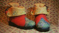 Обувь ручной работы. Ботиночки