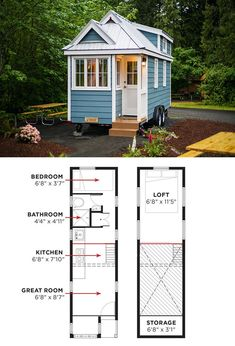20 Free DIY Tiny House Plans to Help You Live the Small & Happy Life ...