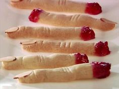 Giada's Witch Finger Party Cookies
