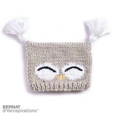 I'm a Hoot! Knit Hat