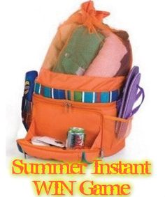 Cautivadora Summer Instant WIN Game INSTANTLY WIN a beach bag backpack cooler, beach towel or a t-shirt Enter DAILY-Ends 8/1