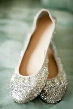 JCREW Sparkle Flats  ♥