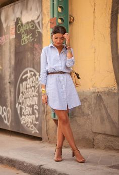 Shirt dresses, the answer to the high summer temperatures waysify