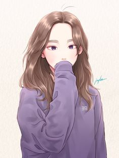 looks like taeyeon Kpop Anime, Manga Anime, Character Inspiration, Character Art, Character Design, Cute Illustration, Character Illustration, Girl Cartoon, Cartoon Art