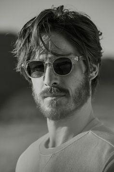Ryan Burns Appears in Mango Man Summer 2015 Look Book Medium Hair Styles, Long Hair Styles, Beard Model, Mein Style, Moustaches, Grunge Hair, Hair And Beard Styles, Men's Grooming, Facial Hair