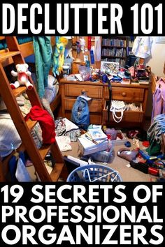 Want to declutter your home but feeling Overwhelmed? These Professional organizers tell all their organizing tips and tricks for getting organized at home and UNcluttering your home to clear the clutter