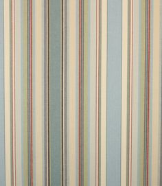 Great striped fabric with a great combination of colours…