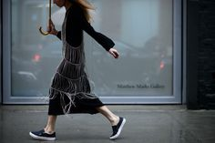 New York Fashion Week Fall 2016 Street Style, Day 6 - -Wmag