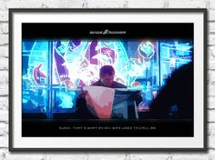 Blade Runner - Sushi Poster Science Fiction Film Wall by SciFiNow