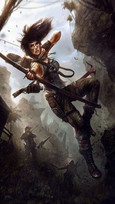 Tomb Raider - Conceptual Art by Tom Edwards