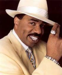 Steve Harvey - Comedian, Act Like A Lady, Think Like A Man by Steve Harvey, Straight Talk , No Chaser by Steve Harvey, host of the nationally syndicated Steve Harvey Morning Show, and current host of Family Fued and His own talk show.