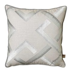 This elegant cushion will add texture and interest to your bedroom.