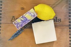 A shower Eco-musings Lemon and Lavender Coconut Milk Soap is a certain bright start to any gloomy day!