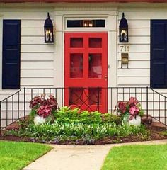 Painted Doors, Garage Doors, Shed, Outdoor Structures, Outdoor Decor, Home Decor, Decoration Home, Room Decor, Home Interior Design