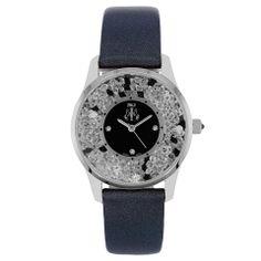 Jivago Ladies' Brilliance Watch In Black & Silver - Beyond the Rack