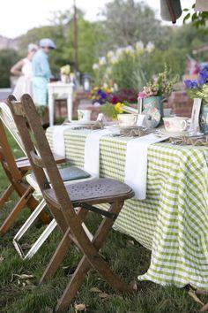 Beatrix Potter Spring Garden Party via Kara's Party Ideas   Cake, decor, cupcakes, games and more! KarasPartyIdeas.com #springparty #gardenp...