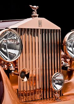 "Rolls-Royce Phantom III Sedanca Saloon ""Copper Rolls"" by Freestone & Webb"