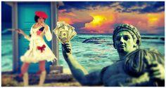 L'immagine rappresenta simbolicamente il mecenatismo medievale (http://www.traspi.net/2006/02/24/il-mecenatismo/), nel quale i principi si accerchiavano di figure intellettuali, artisti e architetti, il cui operato serviva ad aumentare il loro prestigio e a celebrare la propria condotta politica.