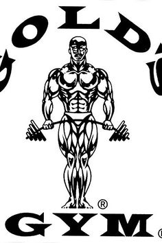 Golds Gym the Mecca of bodybuilding Gold's Gym, Wooden Spoon Crafts, Pitbull, Aesthetics Bodybuilding, Gym Logo, Fantasy Portraits, Best Gym, Garage Gym, Body Drawing