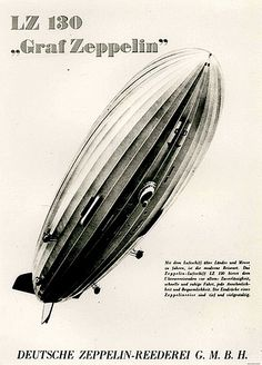 Poster for the LZ130 Graf Zeppelin lI