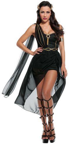 Womens Dark Goddess Costume from CostumeExpress.com