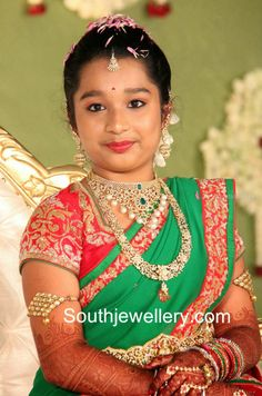 kids half saree function