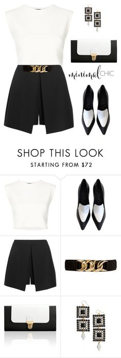 """""""Life in black n'white"""" by liligwada ❤ liked on Polyvore featuring Puma, CÉLINE, Alexander McQueen, Forever 21, Jurekka and Vanessa Mooney"""