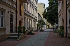podwórko przy ul. Piotrkowskiej 114